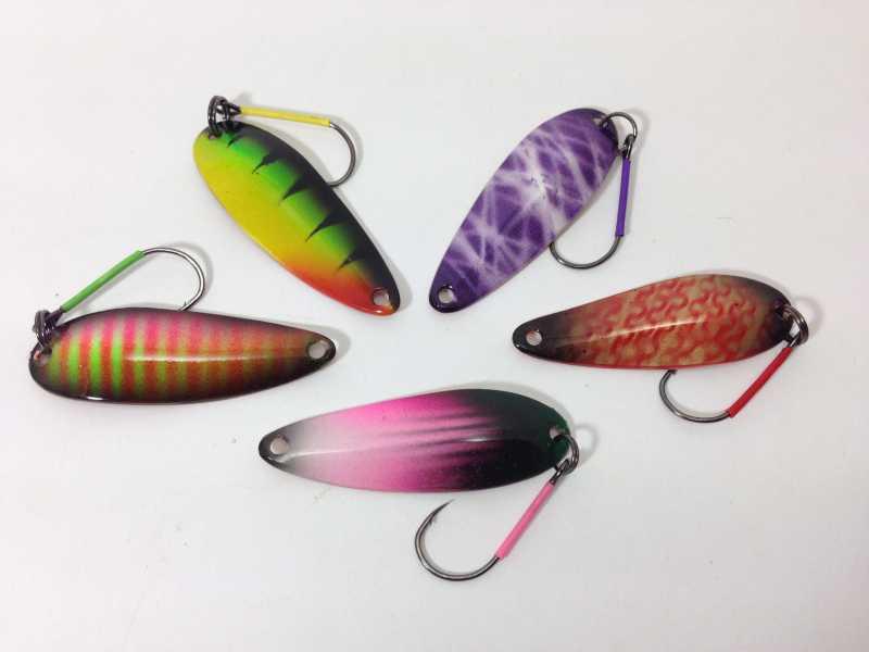 рыбалка как покрасить блесны